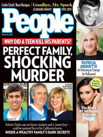 PERFECT FAMILY, SHOCKING MURDER