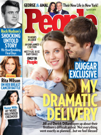 DUGGAR EXCLUSIVE - MY DRAMATIC DELIVERY