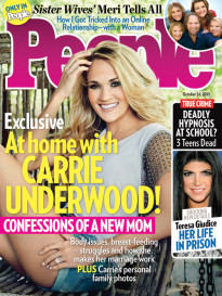 AT HOME WITH CARRIE UNDERWOOD!