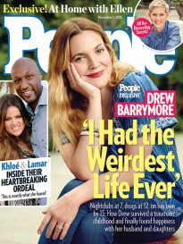DREW BARRYMORE - 'I HAD THE WEIRDEST LIFE EVER'