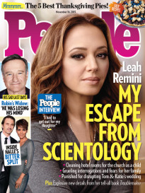 LEAH REMINI - MY ESCAPE FROM SCIENTOLOGY