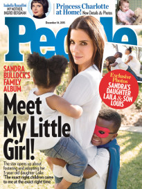 MEET MY LITTLE GIRL! SANDRA BULLOCK'S FAMILY ALBUM
