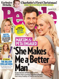 'SHE MAKES ME BETTER' - MAKSIM & PETA ENGAGED