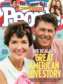 THE REAGAN'S - GREAT AMERICAN LOVE STORY
