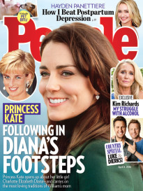 PRINCESS KATE - FOLLOWING IN DIANA'S FOOTSTEPS