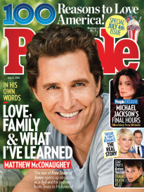 LOVE, FAMILY & WHAT I'VE LEARNED - M. MCCONAUGHEY