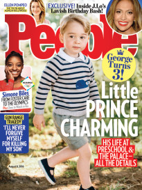 LITTLE PRINCE CHARMING - GEORGE TURNS 3!