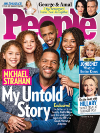 MICHAEL STRAHAN - MY UNTOLD STORY