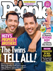 HGTV'S PROPERTY BROTHERS - THE TWINS TELL ALL!