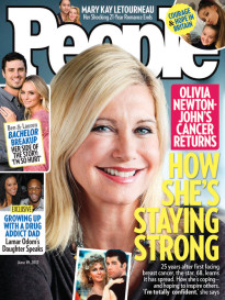 OLIVIA NEWTON-JOHN - HOW SHE IS STAYING STRONG