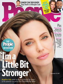 ANGELINA JOLIE - 'I'M A LITTLE BIT STRONGER'