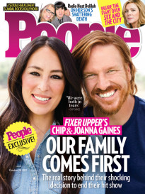 OUR FAMILY COMES FIRST- CHIP & JOANNA GAINES