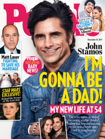 JOHN STAMOS - I'M GONNA BE A DAD!