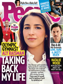 OLYMPIC GYMNAST ALY RAISMAN - TAKING BACK MY LIFE