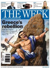 THE WEEK GREECE'S REBELLION