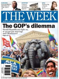 THE WEEK THE GOP'S DILEMMA
