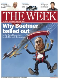 THE WEEK WHY BOEHNER BAILED OUT