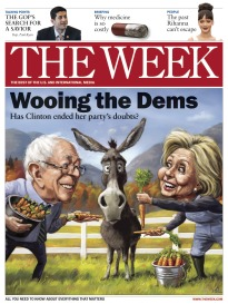 THE WEEK WOOING THE DEMS