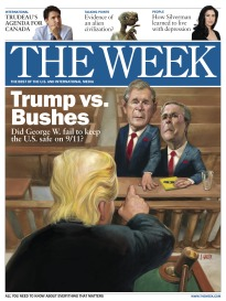 THE WEEK TRUMP VS. BUSHES
