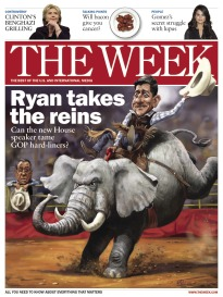 THE WEEK RYAN TAKES THE REINS
