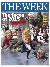THE WEEK THE FACES OF 2015