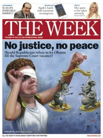 THE WEEK NO JUSTICE, NO PEACE