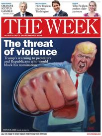 THE WEEK THE THREAT OF VIOLENCE