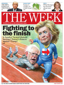 THE WEEK FIGHTING TO THE FINISH