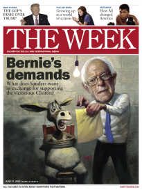 THE WEEK BERNIE'S DEMANDS