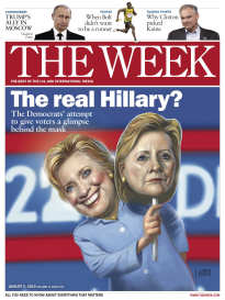 THE WEEK THE REAL HILLARY?
