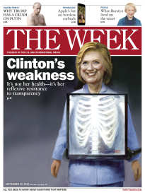THE WEEK CLINTON'S WEAKNESS