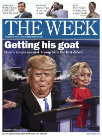 THE WEEK GETTING HIS GOAT