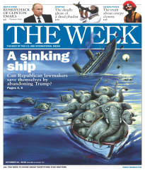 THE WEEK A SINKING SHIP