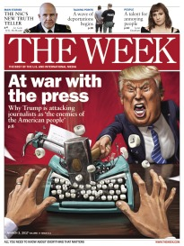 THE WEEK AT WAR WITH THE PRESS