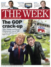 THE WEEK THE GOP CRACK-UP