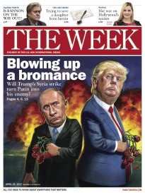 THE WEEK BLOWING UP A BROMANCE
