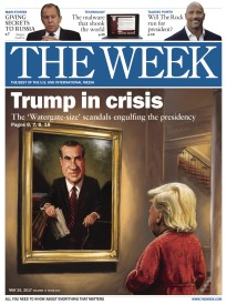 THE WEEK TRUMP IN CRISIS