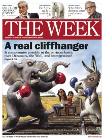 THE WEEK A REAL CLIFFHANGER