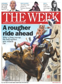 THE WEEK A ROUGHER RIDE AHEAD