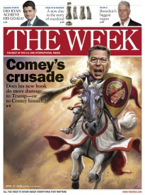THE WEEK COMEY'S CRUSADE
