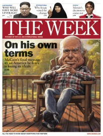 THE WEEK ON HIS OWN TERMS