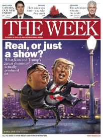 THE WEEK REAL, OR JUST A SHOW?