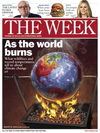 THE WEEK AS THE WORLD BURNS
