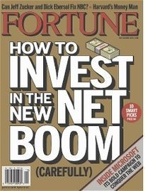 HOW TO INVEST IN THE NEW NET BOOM VOL 153 NO 8