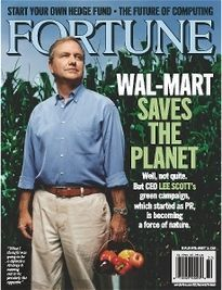 WAL-MART SAVES THE PLANET