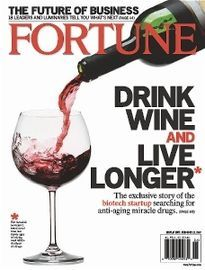 DRINK WINE AND LIVE LONGER
