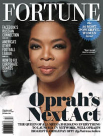 OPRAH'S NEXT ACT