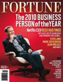 2010 BUSINESS PERSON OF THE YEAR REED HASTINGS