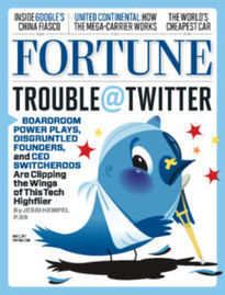 TROUBLE AT TWITTER