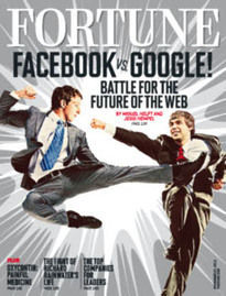 FACEBOOK VS. GOOGLE!